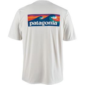 Patagonia Cap Cool Daily Graphic Camiseta Hombre, blanco